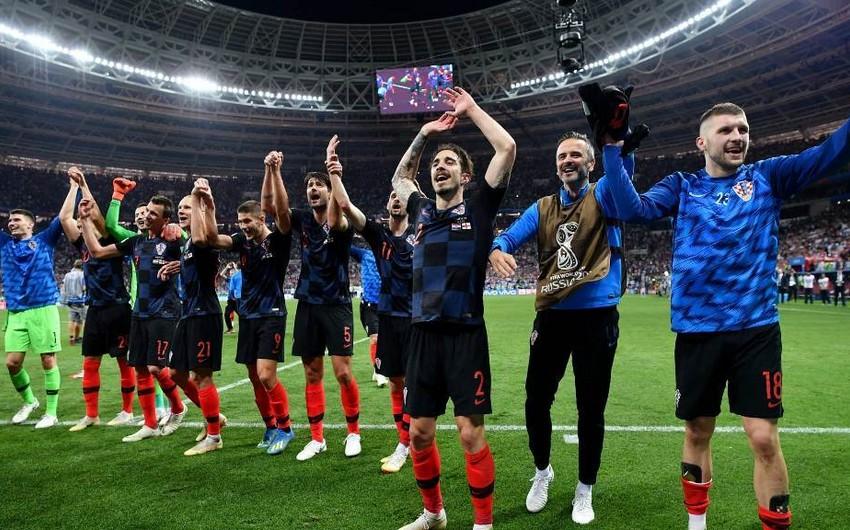 Девять футболистов сборной Хорватии не сыграют против Азербайджана