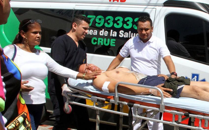 Kolumbiyada partlayış nəticəsində 4 nəfər ölüb, 42-si yaralanıb