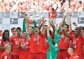 Bavariya ardıcıl 9-cu dəfə Almaniya çempionu oldu