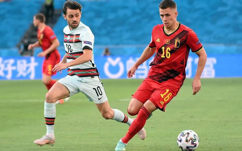 Belçika son çempion Portuqaliyanı məğlub edərək 1/4 finala yüksəldi