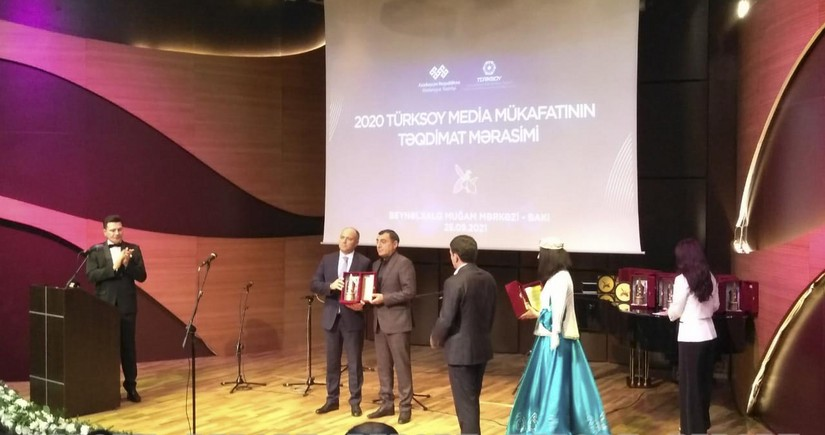 TURKSOY Media Award presented to martyred Azerbaijani journalists posthumously