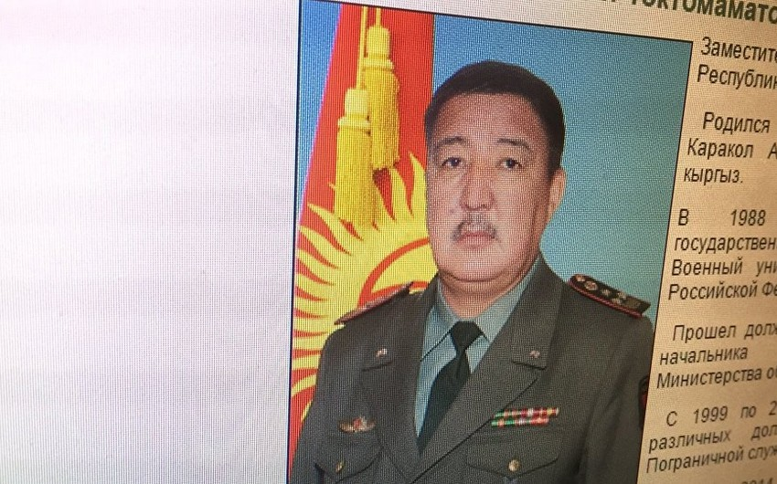 Qırğızıstan müdafiə nazirinin müavini saxta sənəd düzəltdiyi üçün həbs olunub