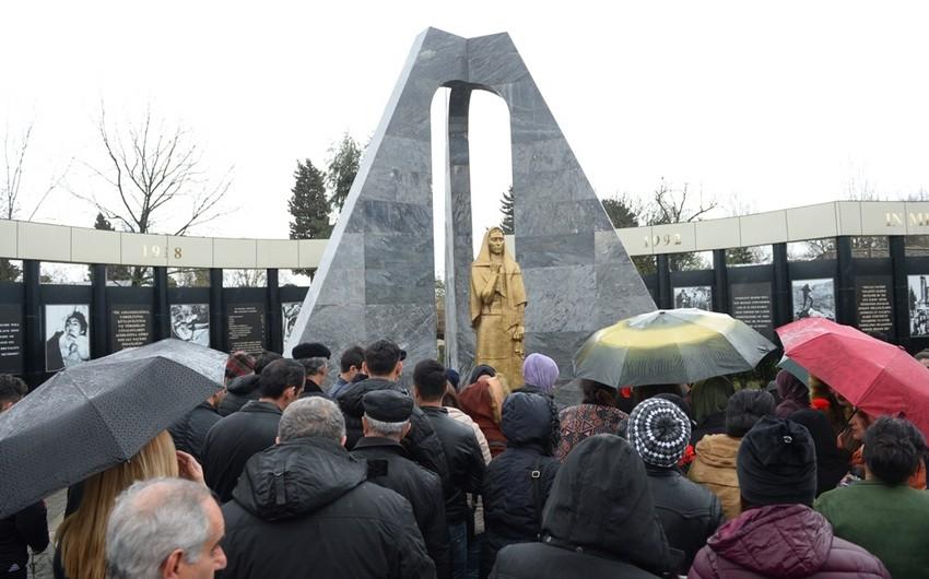В Лянкяране провели мероприятие в связи с Днем геноцида азербайджанцев  31 марта