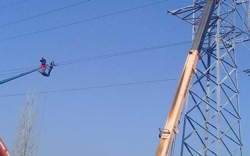 Paytaxtın Xəzər rayonuna elektrik enerjisinin verilişində fasilələr yaranacaq - FOTO