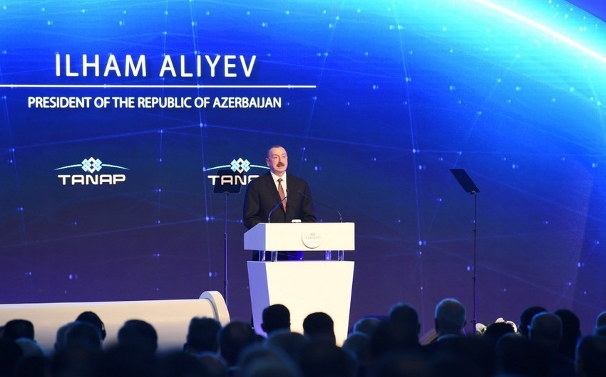 Ilham Aliyev: South Gas Corridor is a energy security project