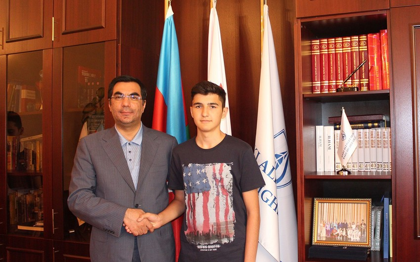 """Applicant who earned 700 points: """"I want to discover whole world with Baku Higher Oil School"""""""
