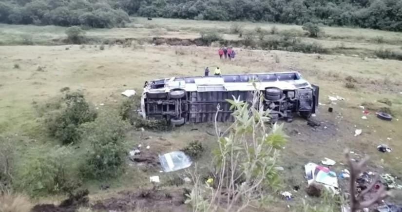 В Эквадоре 11 человек погибли в результате автокатастрофы