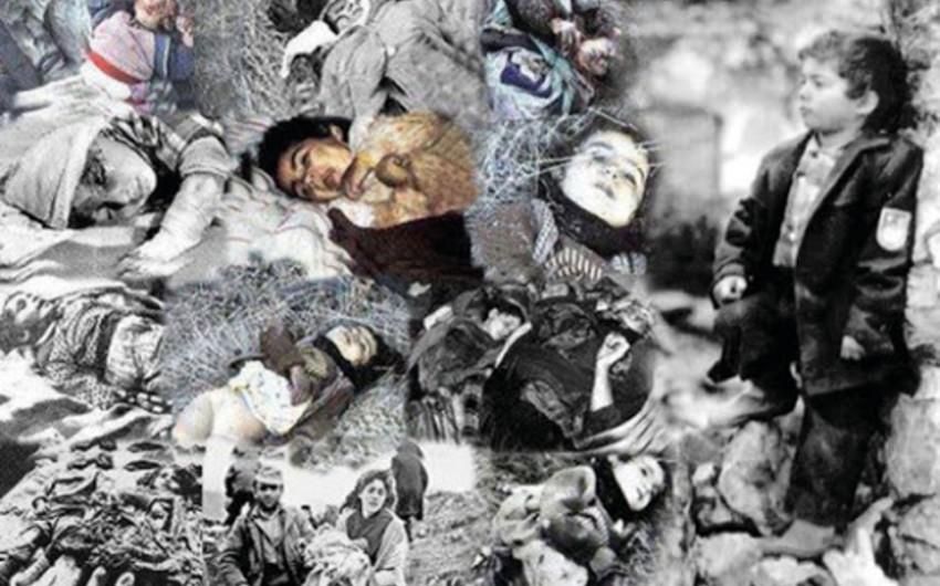 Ukraynada Xocalı soyqırımının tanıdılması istiqamətində müraciət edilib