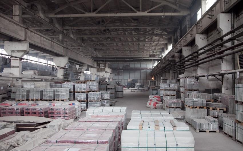 Azərbaycanda tikinti materiallarının istehsalı artıb