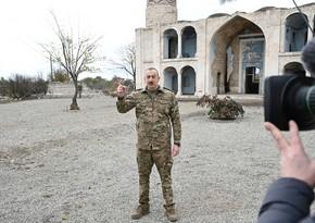 Ильхам Алиев: Некоторые международные организации не хотели называть оккупанта его именем