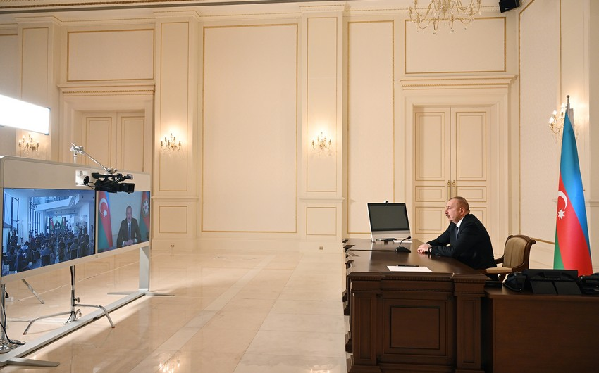 Xinhua publishes article about President Ilham Aliyev's press conference