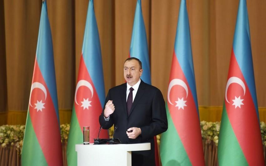 İlham Əliyev: Azərbaycan dövləti yenə də öz gücünü göstərdi