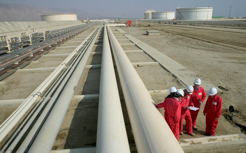 Среднесуточная пропускная способность Южно-Кавказского газопровода увеличилась на 7%
