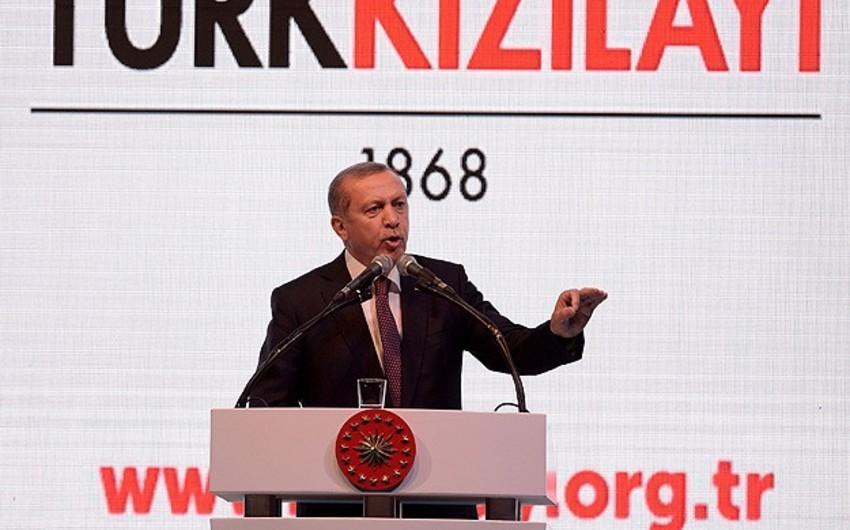 Türkiyə prezidenti: Suriyanın şimalında və ölkəmizin cənubunda yeni dövlətin qurulmasına icazə verməyəcəyik