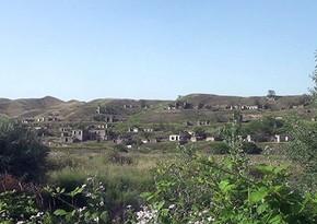 Video footage from Zangilan village