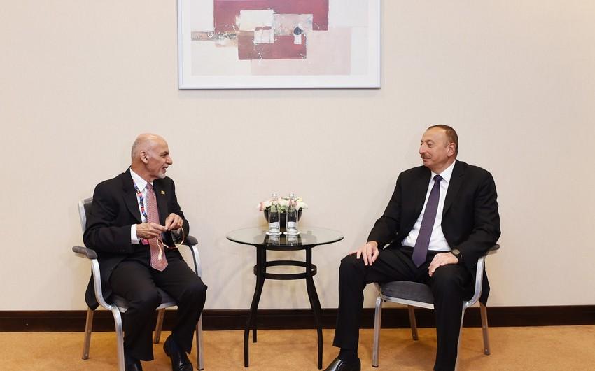 Əfqanıstan prezidenti İlham Əliyevi təbrik edib