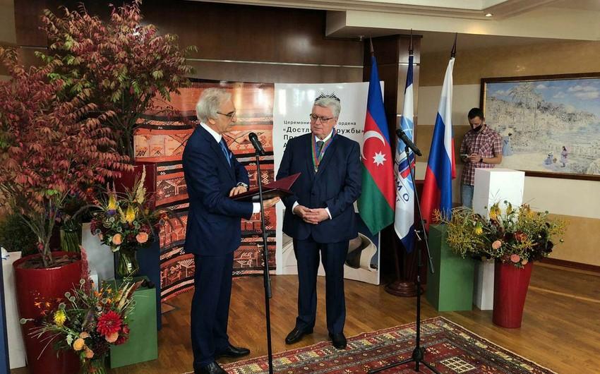 Ректору МГИМО вручен азербайджанский орден Дружбы