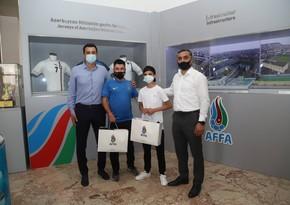 Azərbaycanlı məktəbli UEFA-nın layihəsində qalib oldu