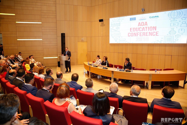 ADA Universitetində 3-cü Beynəlxalq Elmi Təhsil Konfransının açılışı olub
