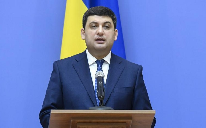 Ukraynanın baş naziri istefa verib - VİDEO