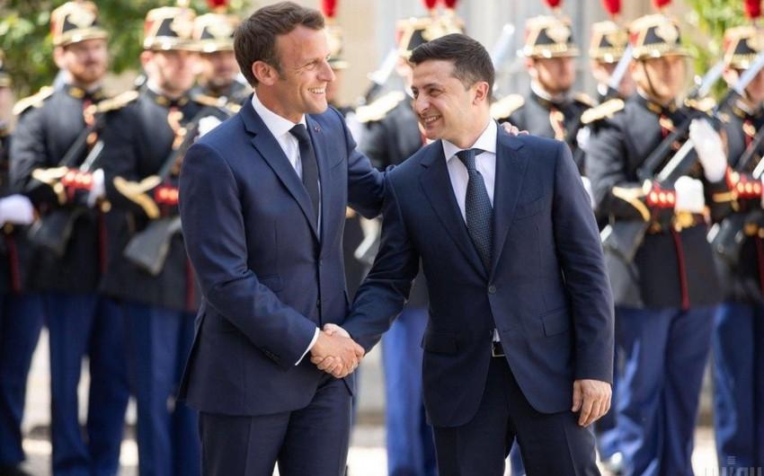 Макрон встретится с Зеленским 16 апреля в Париже