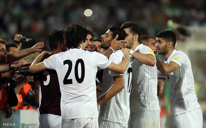 İran futbol üzrə 2018-ci il dünya çempionatına vəsiqə qazanıb - VİDEO
