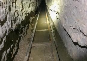 На границе США и Мексики нашли туннель