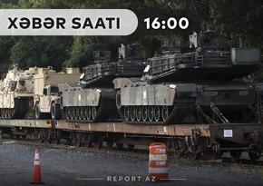 """""""Xəbər Saatı"""": İyulun 17-dən Ermənistana 400 tondan artıq hərbi yük daşınıb"""