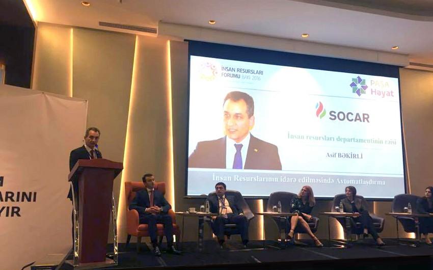 SOCAR insan resurslarına həsr edilmiş beynəlxalq forumda iştirak edib