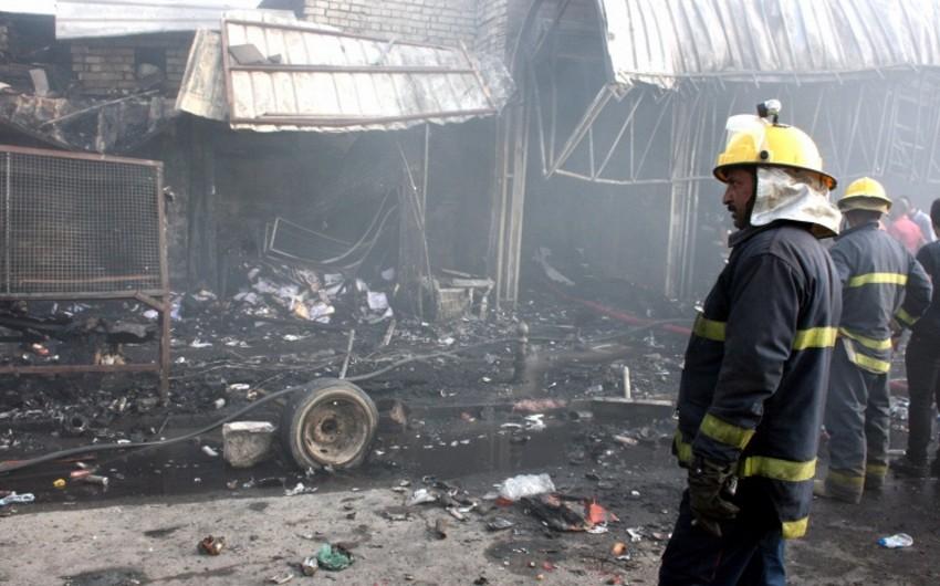 İraqda iki partlayış nəticəsində 33 nəfər ölüb