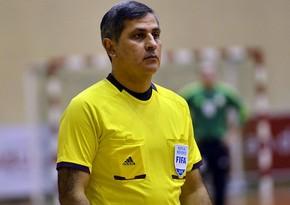 Azərbaycanlı hakim-inspektor seçmə mərhələ oyunlarına təyinat aldı