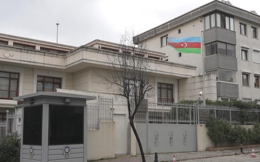 Azerbaijani embassy condemns terrorist attack in Turkey