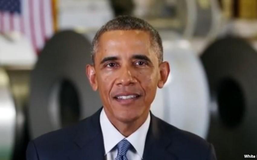 Obama: Zəhmətkeş amerikalılar layiq olduqları təqaüdlə təmin edilməlidir