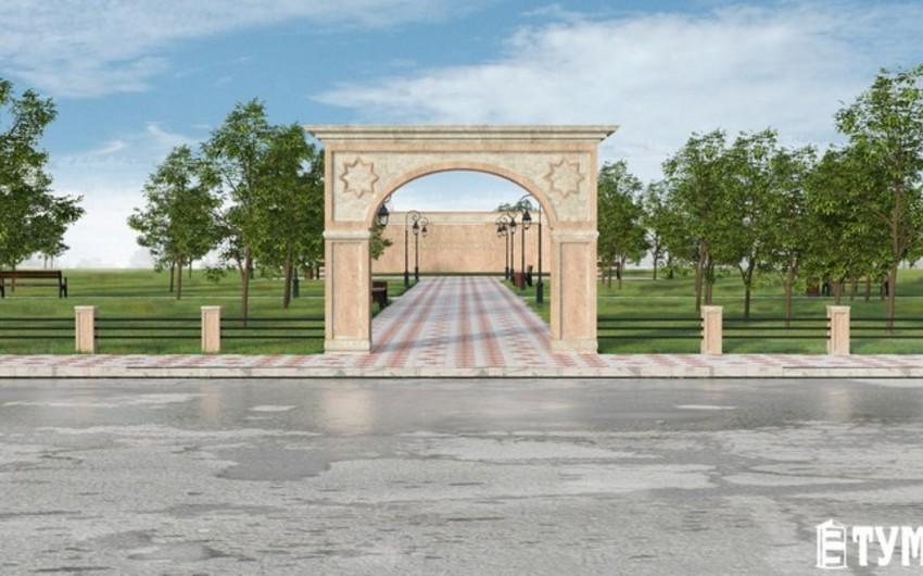 Azərbaycan diasporu Aktauda Dostluq parkının tikintisinə başlayıb