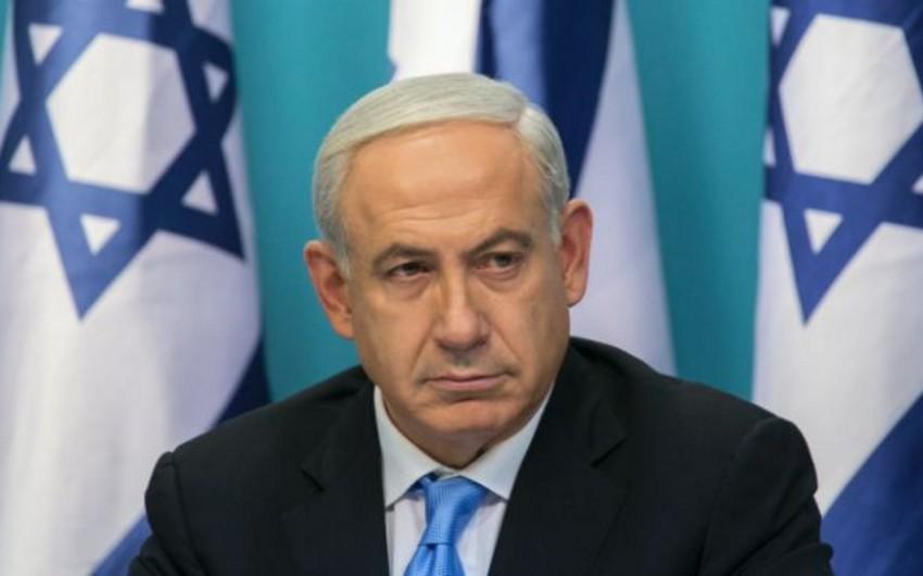 Netanyahu: HƏMASın yenidən terrorçu təşkilatlar siyahısına qaytarılmasını gözləyirik