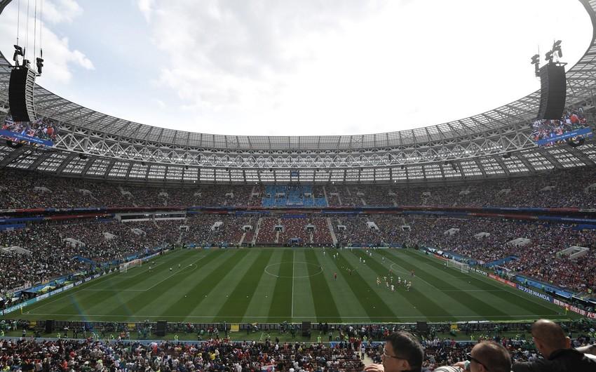 Futbol üzrə dünya çempionatında bu gün 4 oyun keçiriləcək