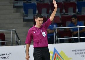Azərbaycanlı FIFA referisi Avropa çempionatının seçmə mərhələsində