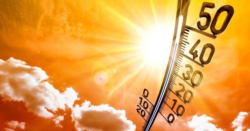 Завтра воздух в Азербайджане прогреется до 42 градусов
