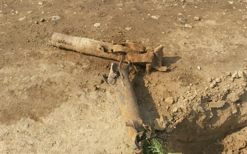 Horadiz-Bakı avtomobil yolundan partlamış Qrad raketinin qalıqları aşkarlanıb