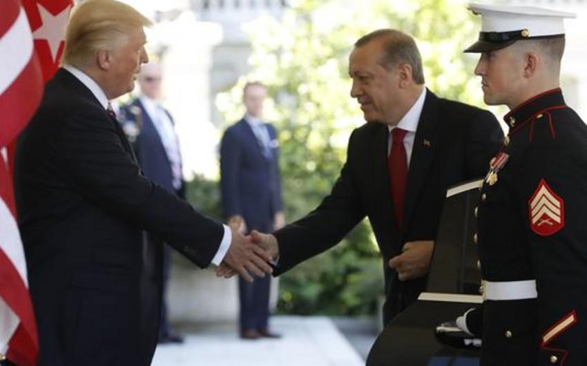 Vaşinqtonda ABŞ və Türkiyə prezidentləri arasında görüş olub