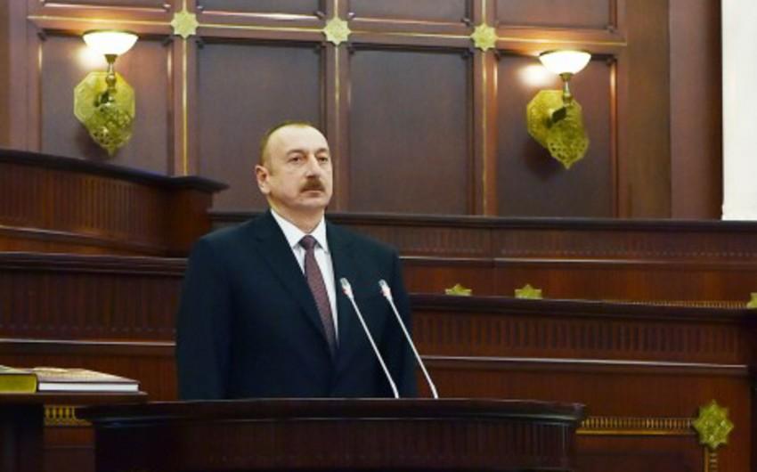 Президент Ильхам Алиев: Мы и впредь приложим усилия для демократического развития