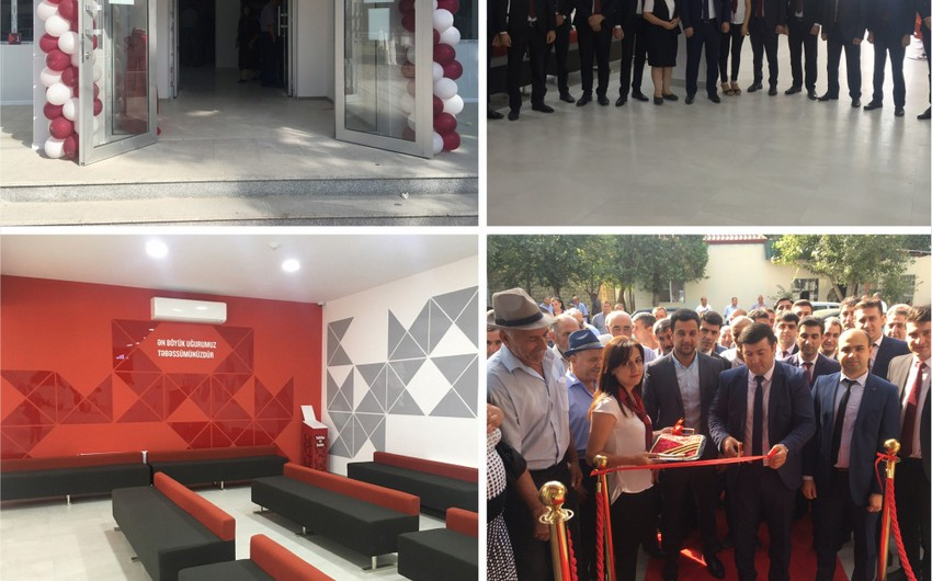 """""""Kapital Bank""""ın yenilənmiş Beyləqan filialı istifadəyə verilib"""