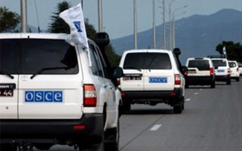OSCE holds monitoring on the Line of Contact