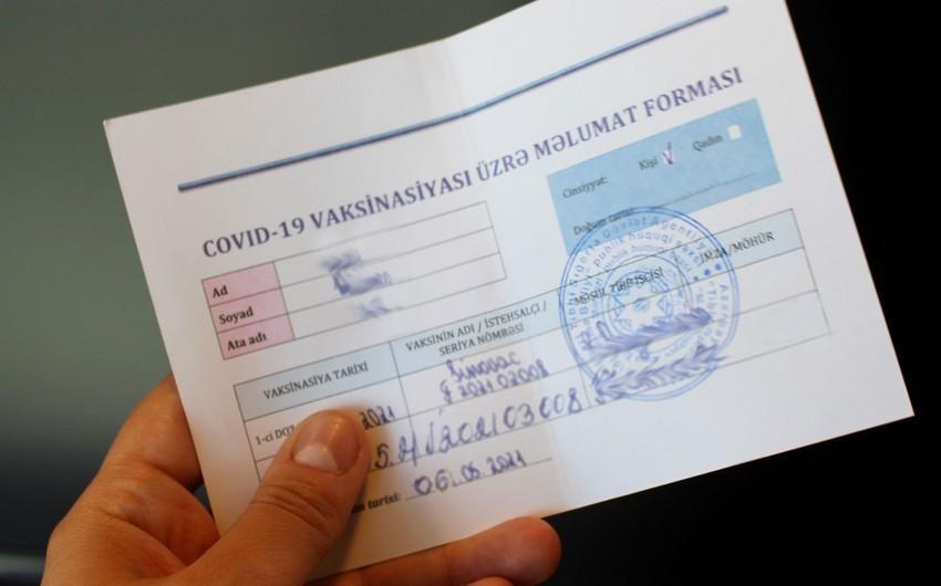 Ağstafada saxta COVID-19 pasportu satan şəxslərə cinayət işi açılıb