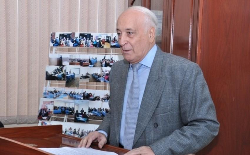 Васиф Бабазаде награжден орденом Шараф