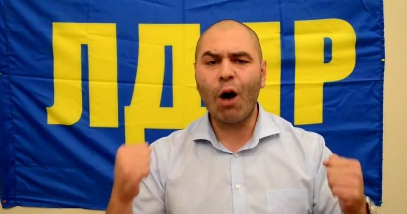 Moskvada Jirinovskinin oğlu döyülüb