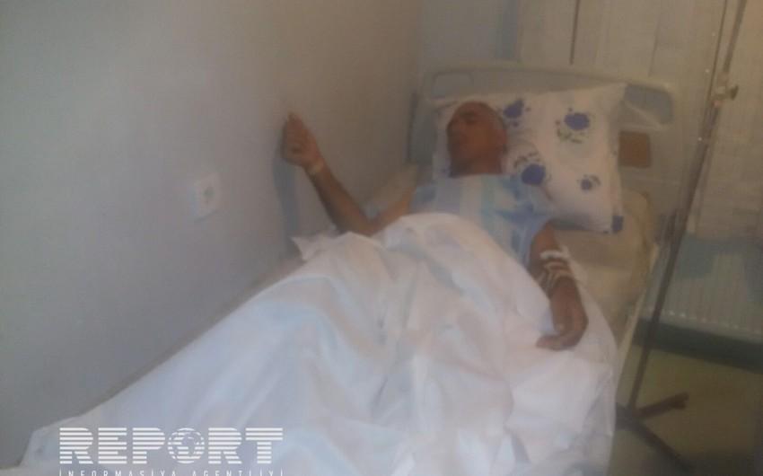 Tərtərdə hərbi sursatın partlaması nəticəsində mülki şəxs yaralanıb - FOTO