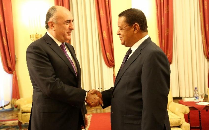 Elmar Məmmədyarov Efiopiya Prezidenti ilə görüşüb