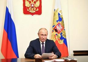 Putin dünyada təhlükəsizliyə qarşı təhdidləri açıqlayıb