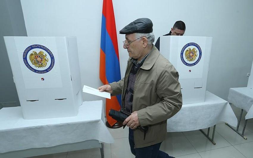 Ermənistanda keçirilən erkən parlament seçkiləri başa çatıb - YENİLƏNİB
